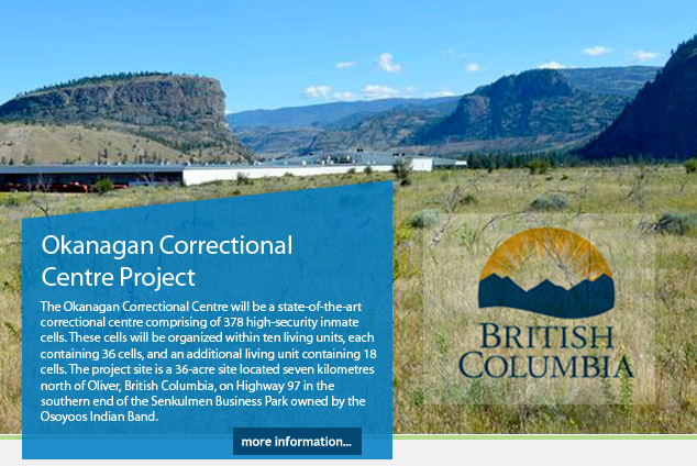 Okanagan Correctional Centre Project
