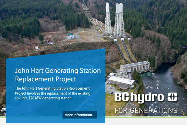 John Hart Generating Station Replacement Project