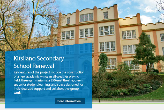 Kitsilano Secondary School Renewal