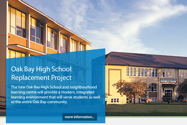 Oak Bay High School Replacement Project
