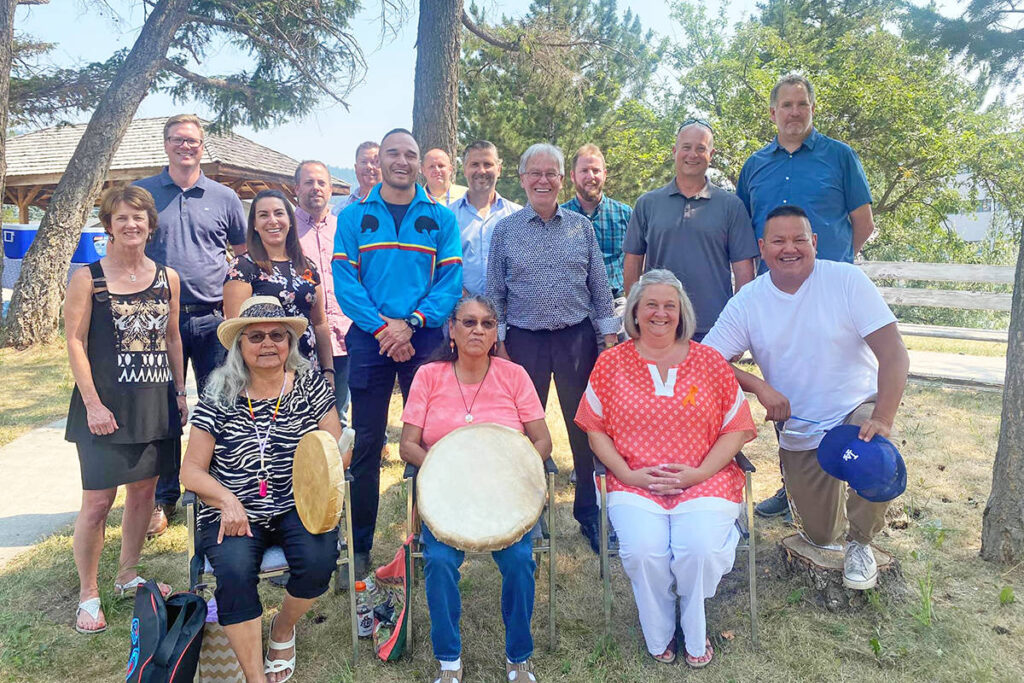 Williams Lake First Nation hosts smudging ceremony for hospital project